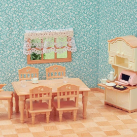Sylvanian families  - Eetkamerset