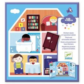 Djeco - Stickers - La maison