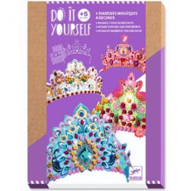 Djeco - mozaiek - Diademen & prinsessen