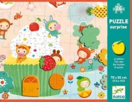 Djeco - Puzzel - De verrassingscake - 24 stukjes