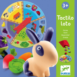 Djeco - Tactilo Loto - De boerderij