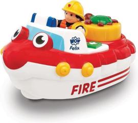 WoW Toys Fireboat Felix - Brandweerboot
