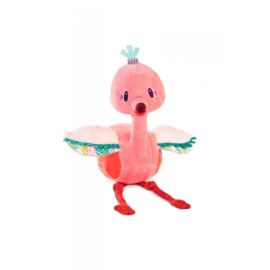 Lilliputiens -  Anaïs, knuffel Flamingo