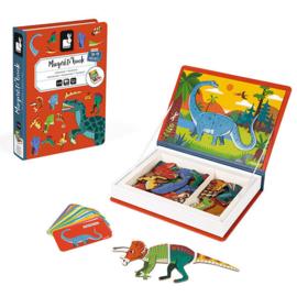 Janod - Magneetboek - Dinosaurussen