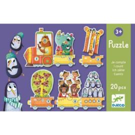 Djeco - Puzzel Ik tel