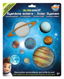 Buki - 3D Glow Space Zonnestelsel