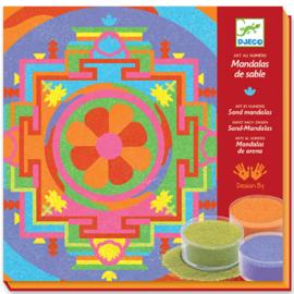 Djeco - Gekleurd zand - Mandala's
