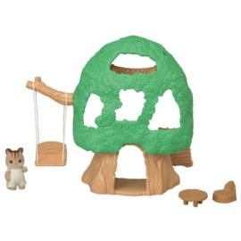 Sylvanian families - Hut met rode eekhoorn