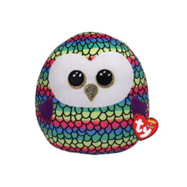 Fidget toy - Squishmallow -  Ty Squish a Boo - Owen The Owl - 20 cm