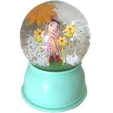 Djeco - Nachtlampje led - meisje met bloem