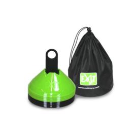 EXIT - markeringspionnen (20 stuks) - groen/zwart