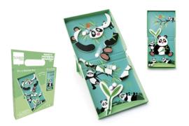 Scratch -  Magnetische Puzzel - Run Panda