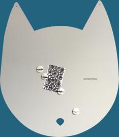 Wonderwall - Magneetbord - Kat - 50X60CM