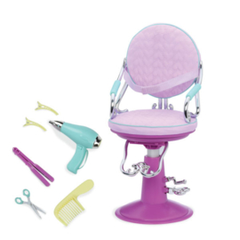 Our Generation - Sitting Pretty Salon Chair – Lila (Make up stoel)