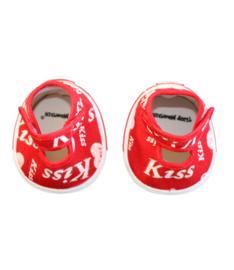 RED KISS HEART SHOE