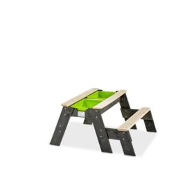 EXIT Aksent zand-, water- en picknicktafel (1 bankje)