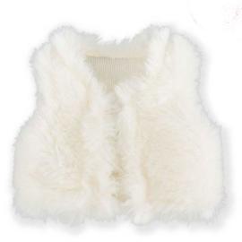Ma Corolle - Mouwloos vestje in namaakbont