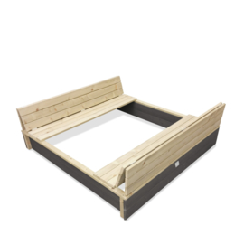 EXIT - Aksent houten zandbak 136x132cm