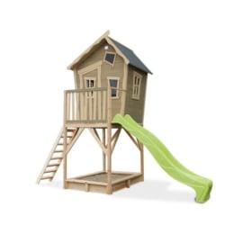 EXIT - Crooky 700 houten speelhuis - grijsbeige