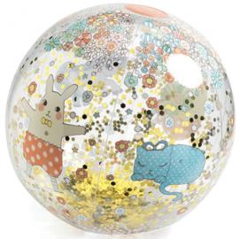 Djeco - Strandbal Kawaii Glitters - 35cm