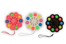 Fidget toy -  Magic Fidget 10 Pop it spinner 14.5cm (Per stuk)