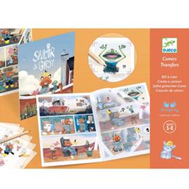 Djeco -  Krasplaatjes stripverhaal 'Sailor & Gipsy'