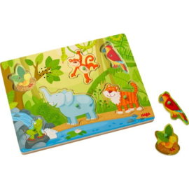 HABA  - .Geluidenpuzzel - In de Jungle
