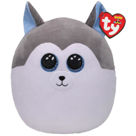 Fidget toy - Squishmallow -  Ty Squish a Boo - Slush The Husky - 31 cm