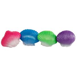 Fidget toy -  Sealife Knijp Schelp met Parel (Per stuk)