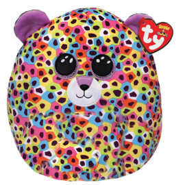 Fidget toy - Squishmallow -  Ty Squish a Boo - Giselle The Leopard  - 31 cm