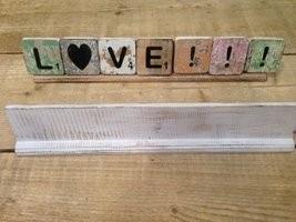 Letterplank - 40 cm