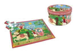 Scratch Puzzel - Prinsessenkoets - 60 stuks