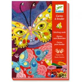 Djeco - Elégant carnaval - Borduurkaarten
