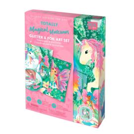 Box Candiy - Glitter Art Set -Totally Magical Unicorns