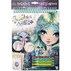 Creatief schetsboek - Marinia