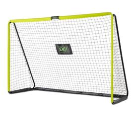 EXIT - Tempo stalen voetbaldoel 300x200cm - groen/zwart