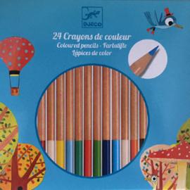 Djeco 24 kleurpotloden