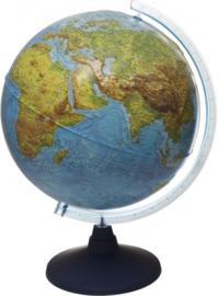 IQ Wereldbol 32cm - Reliëf en Led
