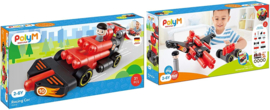 Poly M - Racing Car - Bouwblokken 31- Delig