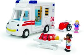 Speelgoedvoertuig Ziekenauto Robin