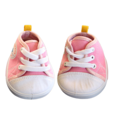 Pink Star Tennis Shoes
