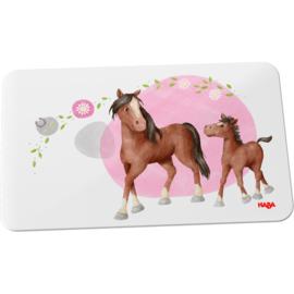 Haba - Broodplankje Paarden