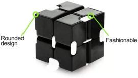 Fidget toy - Infinity Cube Zwart
