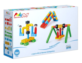 Poly M - Adventure Playground Kit - Bouwblokken 110-delig