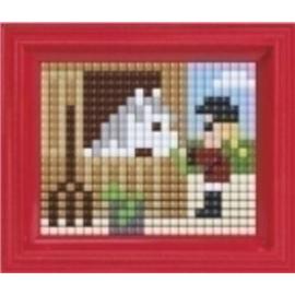 Pixel Hobby - Complete set - Paard met meisje