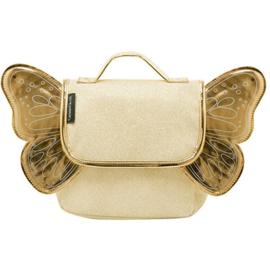 Kleuterboekentas - Vlinder - Goud glitter