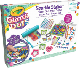 Crayola - Glitter Dots - Sparkle Station Deluxe