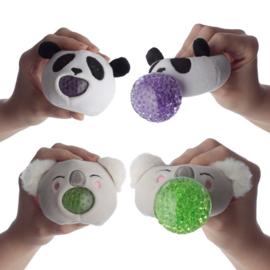 Fidget toy -  Adoramals Knijpbare Pluche Zoo Dieren
