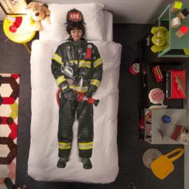 Snurk Dekbedovertrek  - Brandweerman