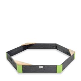 EXIT - Aksent houten zandbak zeshoek 200x170cm